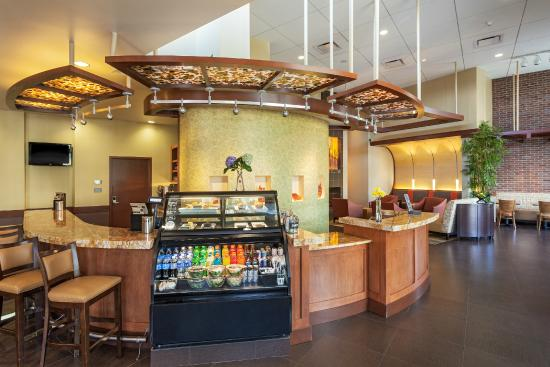 grab and go case and reception picture of hyatt place. Black Bedroom Furniture Sets. Home Design Ideas
