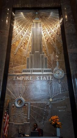 Vue de l 39 int rieur picture of empire state building new for Interieur new york