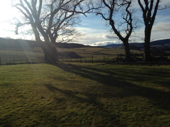 Views from Glenfiddih and Balvenie View rooms