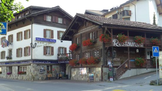 The Rustico Hotel : Outside of the Hotel