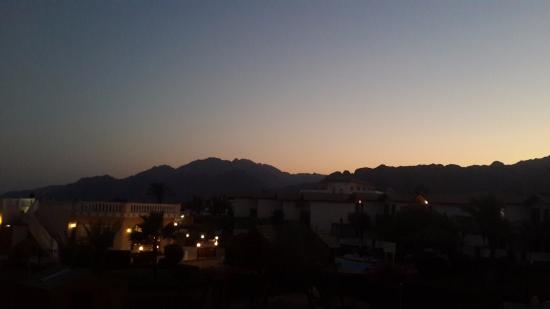 Ganet Sinai Hotel: Вид с балкона