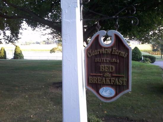 Clearview Farm Bed and Breakfast: You're Here.