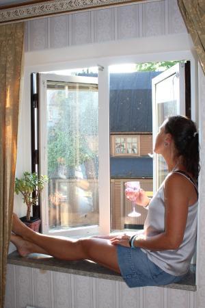 Hotel Gute: Utsikt mot innergården