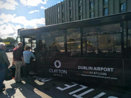 Free Shuttle Bus To From Airport Picture Of Clayton Hotel Dublin