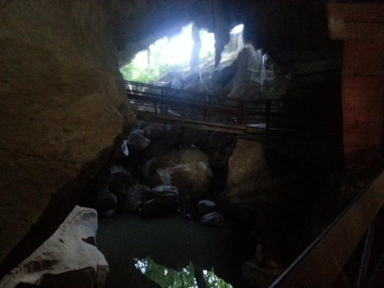 Sadao, Thailand: inside the cave