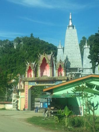 Sadao, Thailand: outside of the temple