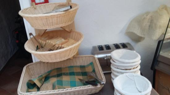 "Hotel Italia Görlitz Altstadthaus: Frühstücks""buffet"" gegen 8.30 Uhr"