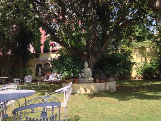 Hotel Anuraag Villa Restaurant: Peaceful lunch away from all the noise