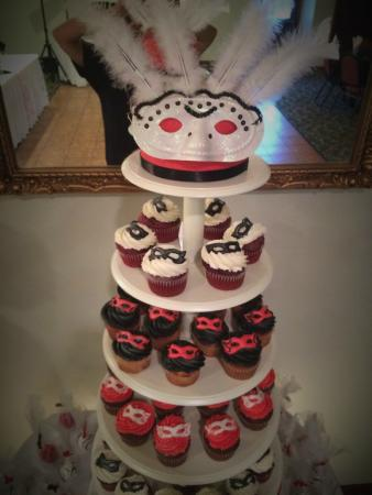 Newfield, Nueva Jersey: Cupcake Display