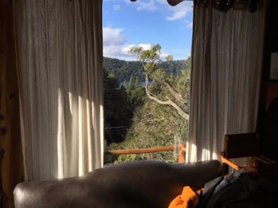 Cabañas Terrazas del Campanario: Vista desde el Living
