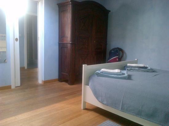 Piazzetta Consolata: Camera da letto