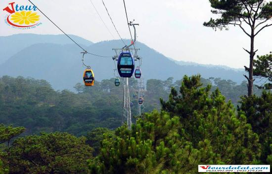 Lam Dong, Vietnam: Cable car (City tour)