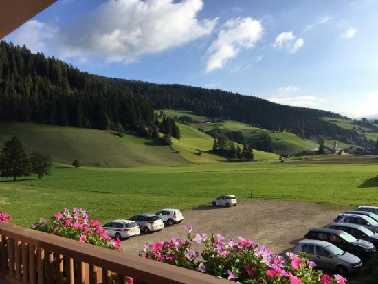 Hotel Trenker: Vista dalla camera St. Veit