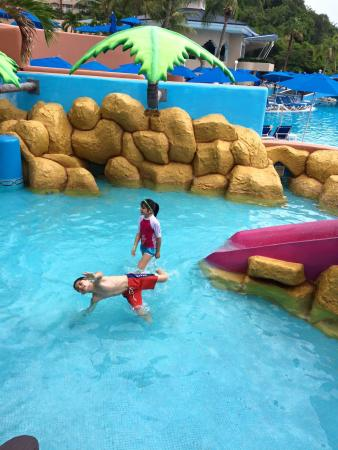 Azul Ixtapa Grand Spa & Convention Center: Excelente área para niños