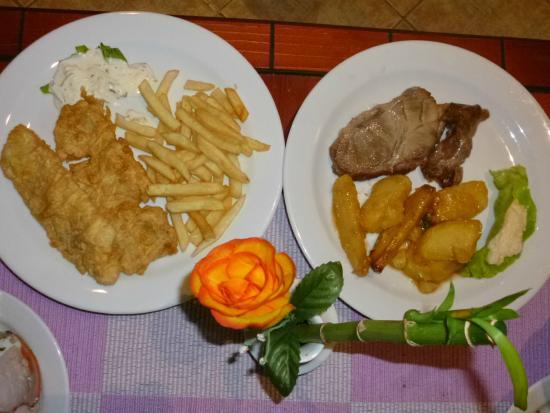 Hotel Aquamarin : Ужин - горячее на заказ