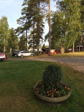 Vaggeryd, Suécia: Liten vy över campingen