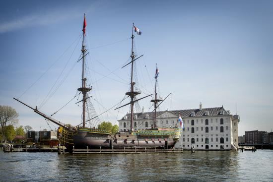 Photo of History Museum Het Scheepvaartmuseum| The National Maritime Museum at Kattenburgerplein 1, Amsterdam 1018 KK, Netherlands