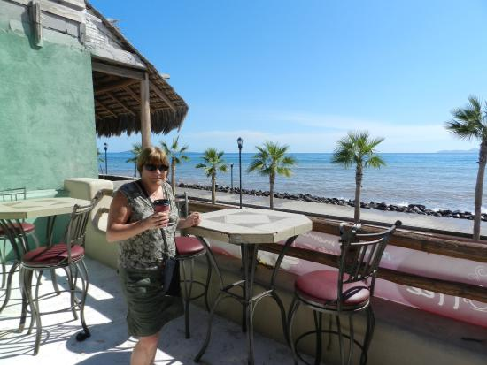 Sea Coffee Loreto: Coffee & Dessert (With A View)
