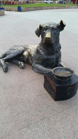 Sculpture The Dog