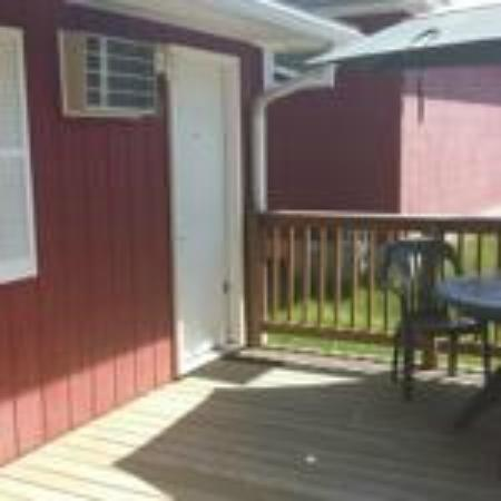Indian Trail Motel: Jacuzzi Deck
