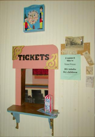 Hazel Green Opera House ticket Window