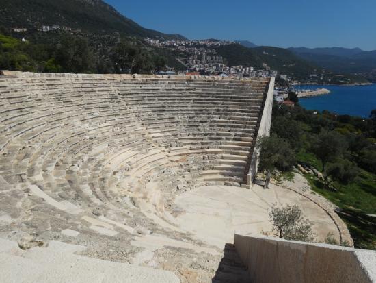 photo0.jpg - Antiphellos Antik Kenti Tiyatrosu, Kaş Resmi ...