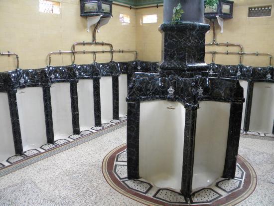 Rothesay's Victorian Toilets: Super urinals