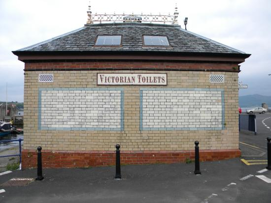 Rothesay's Victorian Toilets: Toilet building