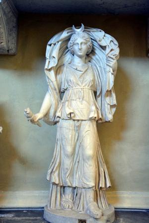 Statue Of Artemis Museo Chiaramonti Vatican Museums Vatikan M 252 Zeleri Vatican City Resmi