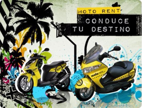Moto-Rent: Conduce tu destino - Alquila una moto