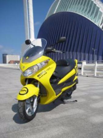 Moto-Rent: Rutas por Barcelona