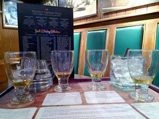 Vat House Bar: Vathouse Whiskey Tasting Trays