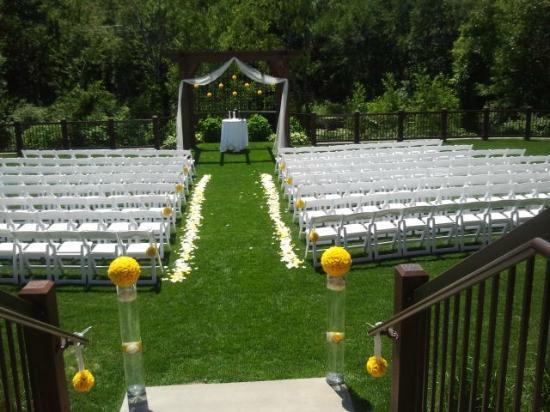 Bunker Hills Golf Club Ceremonies Wedding Receptions