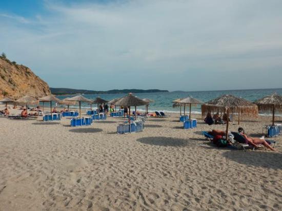 Metalia beach, Limenraia, Thassos - Picture of Metalia ...