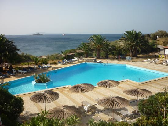 Andros Holiday Hotel: Η πισινα !!!