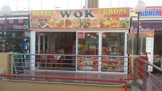 Buffet Wok Europe