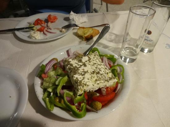 Artemis: La salade grecque