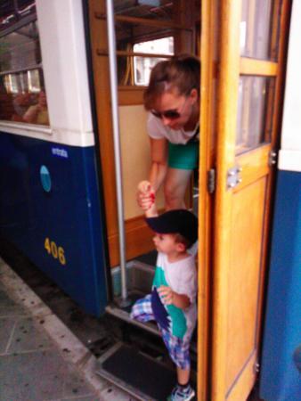 Villa Opicina, Italia: Opicina-Triest tram