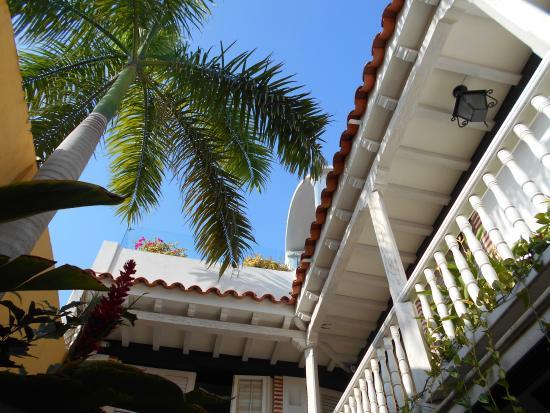 Casa Santa Ana: Hermosos balcones