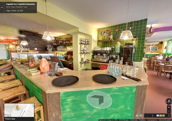 Restaurant Vegetalia: Tour virtual google