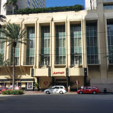 Marriott Hotel Canal St New Orleans La