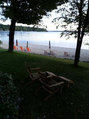 Grand Rapids, MN : View from private deck off Loon room at Green Heron