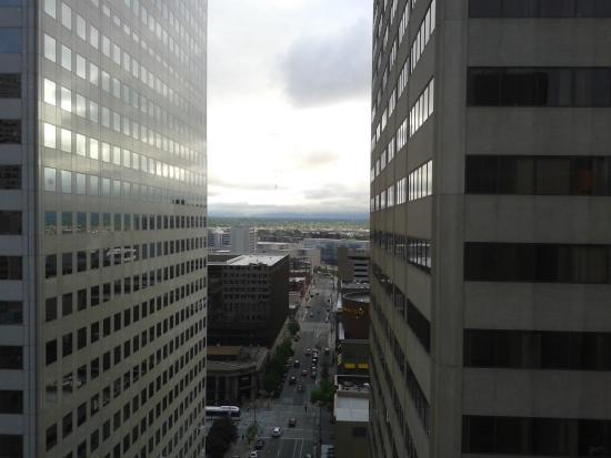 Holiday Inn Express Denver Downtown: Vista da janela do quarto onde fiquei.