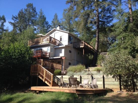 Forestville, Califórnia: House from the back yard