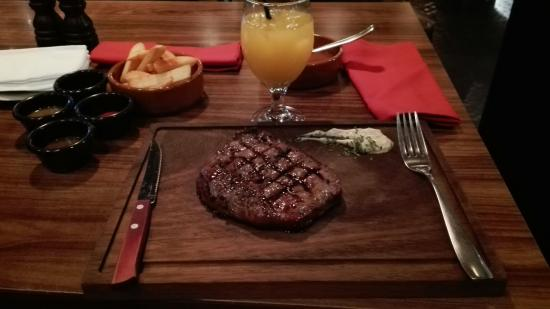 Steak Company: One of the best steaks I ever had