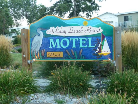 Holiday Beach Resort Motel: Motel Wntrance