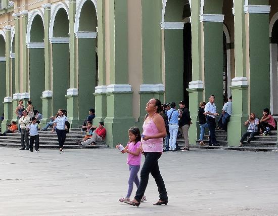 Palacio Municipal de Cordoba: In front of the municipal building.