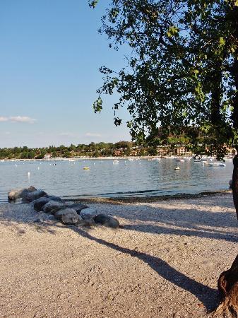 Spiaggia della Romantica: Un po' d'ombra