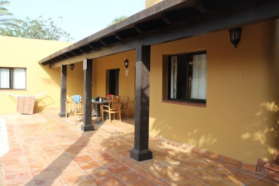 Villas Oasis Papagayo: porche