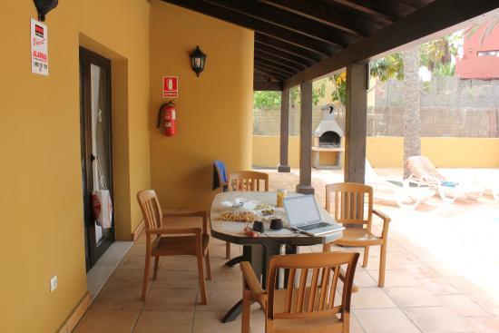 Villas Oasis Papagayo: terraza